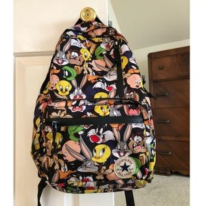 3e4b86f79df Converse Accessories | Looney Tunes Backpack | Poshmark
